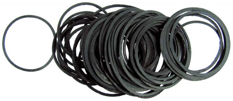 Sugar Mill Spares - Rubber Items - Neopren Rubber - O Ring / Flat Ring